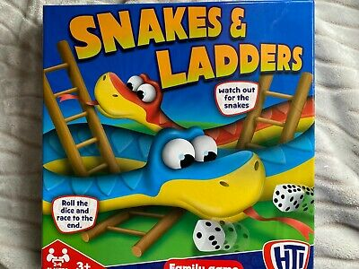 £2 • Buy HTI Snakes & Ladders Traditional Board Games