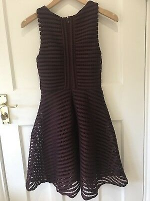 £8.99 • Buy Perfect Teen Prom Party Dress,aubergine,uk Size 8,worn Once,excellent Condition