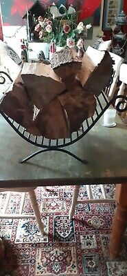 £75 • Buy FIRE BASKET/LOG STORAGE CAST IRON. Purchaser Organises COLLECTION