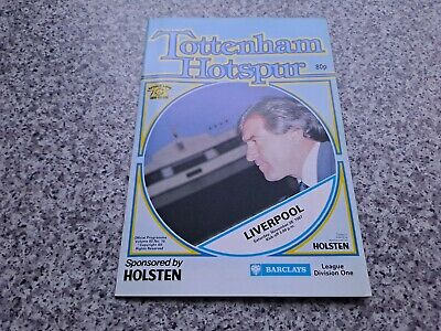£2.99 • Buy Tottenham Vs Liverpool Official Programme, Division One, 1987-1988