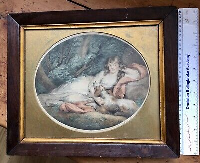 £30 • Buy 18th Century Charles White Colour Etching Of Richard Cosway Painting