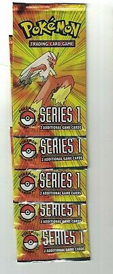 $26 • Buy 5x Pokemon POP Series 1 Promo Sealed Pack - 2 Card Boosters - The First Set!
