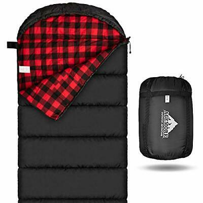 £58.99 • Buy Cotton Flannel Sleeping Bag For Adults, 100% Cotton Lining Sleeping Bag