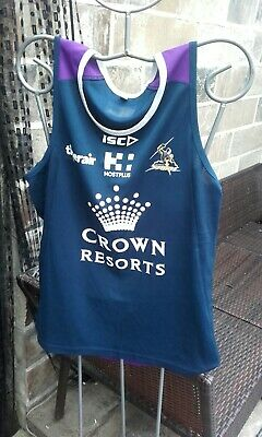 £8.21 • Buy Melbourne Storm NFL Sleeveless Crown Resorts Sports Top (M)