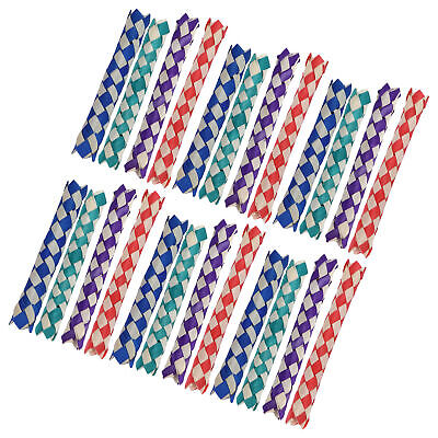 £7.50 • Buy Finger Trap Beautiful Chinese Bamboo Finger Trap With Natural Bambo Replacement