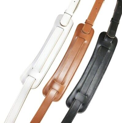 AU48.80 • Buy Electric Acoustic Guitar Bass Strap Genuine Leather Guitar Strap NEW