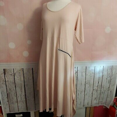 AU110.35 • Buy Masai Clothing Company - 'nasira' Dress In Nude - Xl - New/tags Rrp £91
