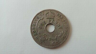 £0.99 • Buy British West Africa One Penny 1947