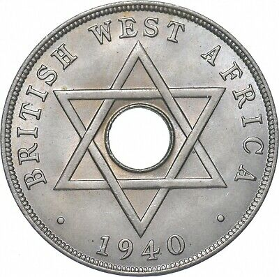 £2.15 • Buy Better - 1940 British West Africa 1 Penny - TC *187
