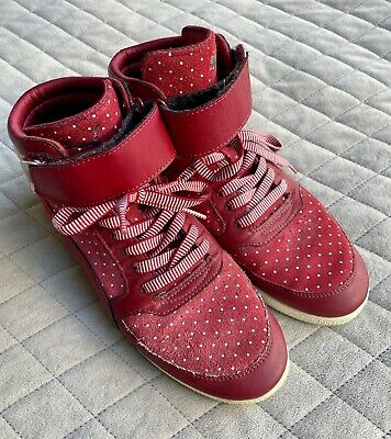 AU21 • Buy Puma Lifestyle High Top Sneakers, Red, EU 40/ US 9