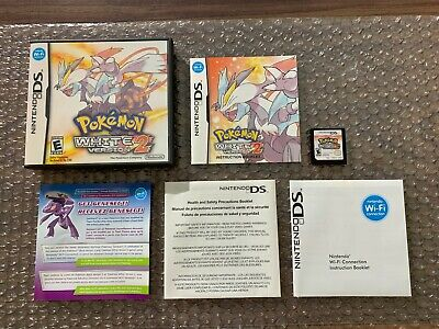 $156.95 • Buy Pokemon: White 2 (Nintendo DS) Authentic -- Complete -- Tested