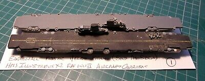 £21 • Buy HMS Illustrious X2 Aircraft Carriers Eaglewall, Scale 1/1200 1/1250 Ship Model