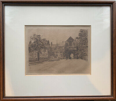 £12.95 • Buy Nice Detailed Print Of Cathedral Close . Norwich Or Cambridge ?