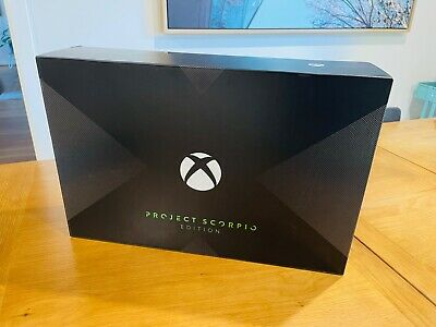 AU207.50 • Buy Xbox One X Console Project Scorpio Edition 1TB Plus 3 Games: Excellent Condition