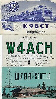 £5.76 • Buy United States - Small Lot Qsl Cards #2 Amateur Radio