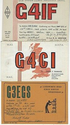 £6.91 • Buy Great Britain - Small Lot Qsl Cards Amateur Radio