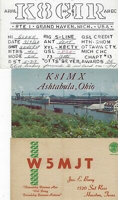 £5.76 • Buy United States - Small Lot Qsl Cards #4 Amateur Radio