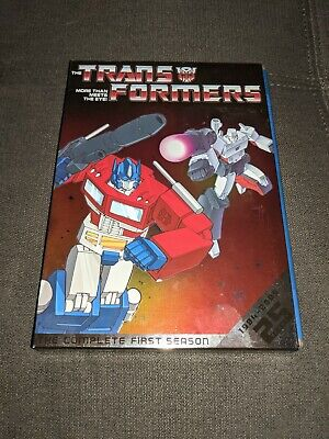 £0.72 • Buy The Transformers The Complete First Season  DVD 3-Disc Set Animated 80s TV Show