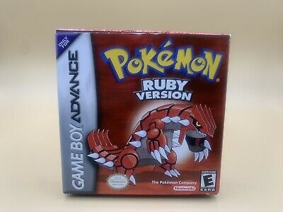 $139.99 • Buy Pokemon Ruby Box With Manuals Gameboy Advance Authentic (No Cart)