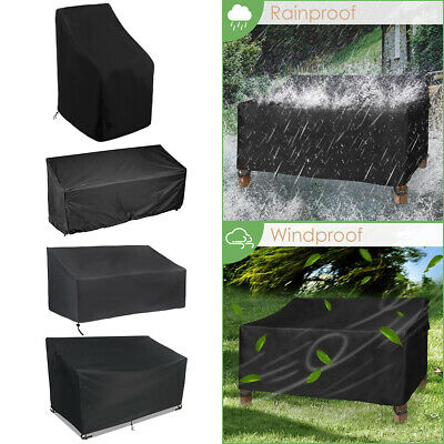 AU21.99 • Buy Outdoor Stacking Chair Cover Garden Patio Furniture Protector Anti UV Waterproof