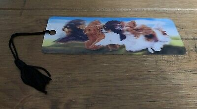 £1 • Buy 3D Holographic Bookmark, Cavalier King Charles Spaniel