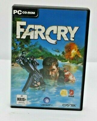 AU25.99 • Buy FARCRY PC CD-ROM COMPLETE With Manual 5 Discs Included