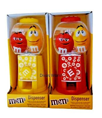 £7.93 • Buy M&M's Candy Dispenser Suitable For Dispensing Plain Chocolate In Yellow Or Red