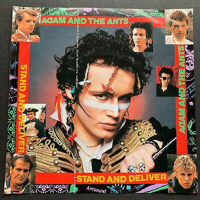£24.90 • Buy Adam And The Ants  Stand And Deliver  Japanese 7  Vinyl 45 Single EX+/EX+