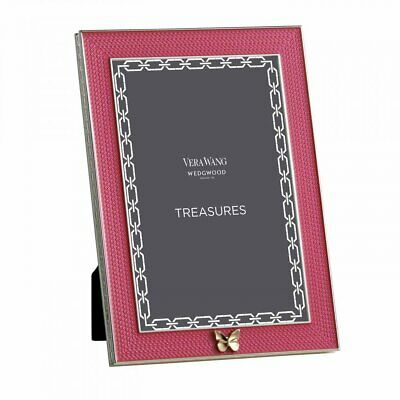 £59.95 • Buy Wedgwood Vera Wang With Love Treasures Pink Butterfly Frame 4x6