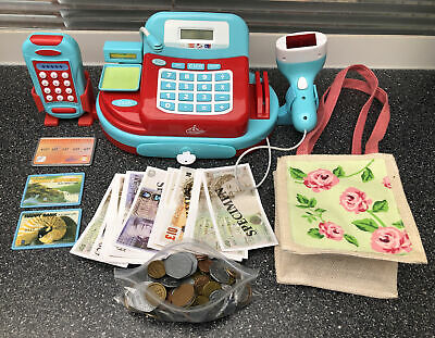 £10 • Buy Carousel Play Till Kids Checkout Sounds, Calculator, Scanner Coins Notes
