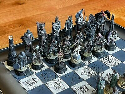 £300 • Buy Lord Of The Ring (lotr) Eaglemoss Chess Set
