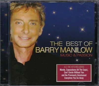£3.44 • Buy Barry Manilow - The Best Of, Music & Passion [CD, 2008]