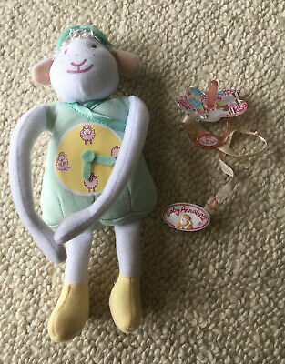 £12.99 • Buy Baby Annabell Tear Dolls Dummy With Clip Bottle And Sheep Toy . Fits 18 Zapf