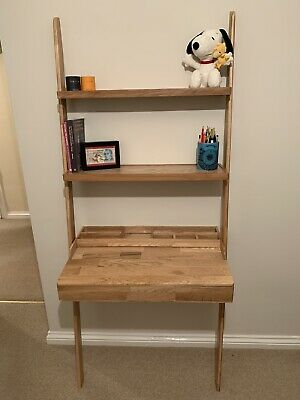 £150 • Buy Futon Company Leaning Ladder Desk With Drawer And Shelves Excellent Condition