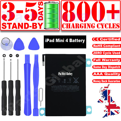£11.99 • Buy New Genuine OEM Quality Battery Replacement For IPad Mini 4 A1538 A1550 + Tools