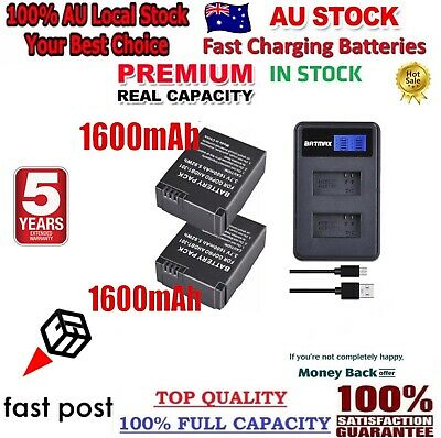 AU38.80 • Buy POWERTRUST* For GoPro Hero 3/3+ Battery Charger GoPro Camera AHDBT 301/302 Gopro
