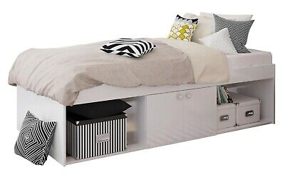 £64.99 • Buy Kids Childs Teen Single 3ft Cabin Storage Bed White 90 X 190 Cm - USED