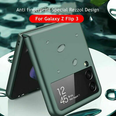 AU17.99 • Buy For Samsung Galaxy Z Flip 3 5G Matte Ultra Thin TPU / PC Protective Case Cover