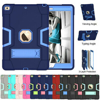 AU24.99 • Buy For IPad 7 8 9th Gen Air Mini 4 5 Pro 11 Shockproof Heavy Duty Stand Case Cover