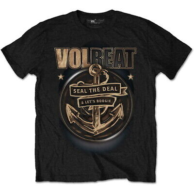£13.99 • Buy Volbeat 'Anchor' (Black) T-Shirt - NEW & OFFICIAL!