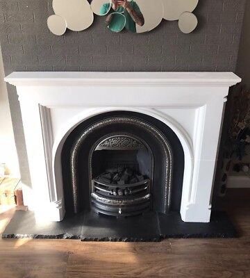 £150 • Buy Plaster Fire Surround. Fireplace. Gothic Arch Design. £150. Delivery Available