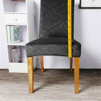 AU12.14 • Buy Home Office Embossed Polyester Chair Cover Chair Protector Seat Cover Decor CH