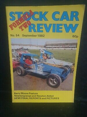 £3.50 • Buy Stock Car Programme F2 Review  1982