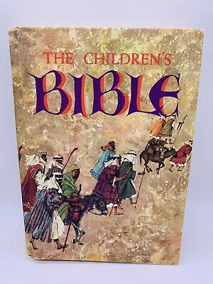 £21.73 • Buy The Childrens Bible 1965 Golden Press Illustrated Old & New Testament Hardcover