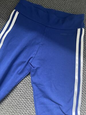 AU18 • Buy As New Ladies Adidas Tights Royal Blue Size Xs Neo