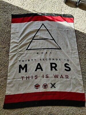 £4.90 • Buy 30 Seconds To Mars Flag