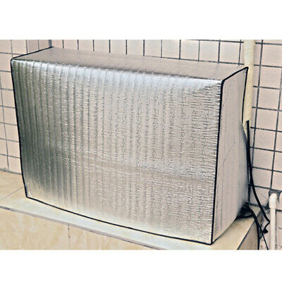 AU26.49 • Buy Double Sided Waterproof Air Conditioner Cover Outdoor Washing Aluminum Film