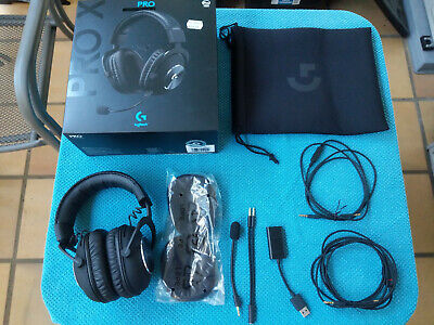 AU110 • Buy Logitech PRO X Gaming Headset Heaphones (wired) - Good Condition, Used A Few Hrs