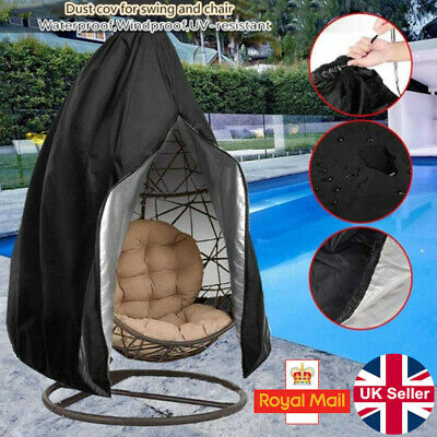 £13.99 • Buy Swing Chair Cover For Hanging Hammock Stand Egg Wicker Seat Outdoor Patio Garden