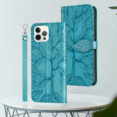 AU11.98 • Buy For IPhone 13 12 11 Pro Max XR XS 8 7 Flip Case Shockproof Leather Wallet Cover